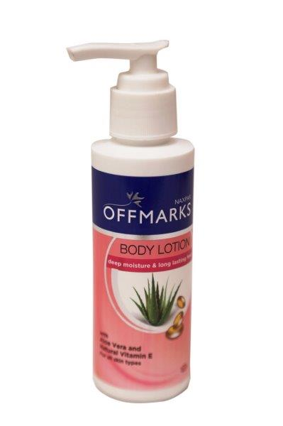 NAXPAR OFFMARKS BODY LOTION