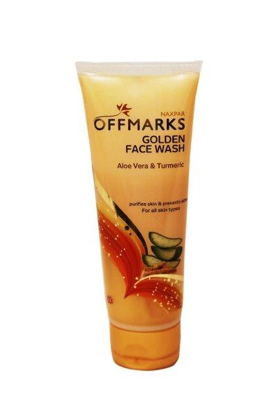 NAXPAR OFFMARKS GOLDEN FACE WASH