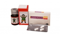 AZITHRO 200 SUSP. & 500 TABLETS